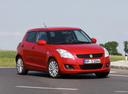Фото авто Suzuki Swift 4 поколение, ракурс: 315 цвет: красный