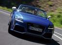 Фото авто Audi TT 8J [рестайлинг],  цвет: голубой