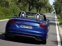 Фото авто Audi TT 8J [рестайлинг], ракурс: 180 цвет: голубой