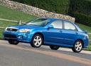 Фото авто Kia Spectra 2 поколение [рестайлинг], ракурс: 45