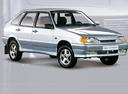 Фото авто ВАЗ (Lada) 2114 1 поколение, ракурс: 315 - рендер цвет: серебряный