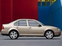 Фото авто Volkswagen Jetta 4 поколение, ракурс: 270 цвет: бежевый