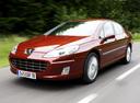 Фото авто Peugeot 407 1 поколение [рестайлинг], ракурс: 45