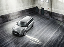 Фото авто Mini Clubman 2 поколение, ракурс: сверху цвет: серый