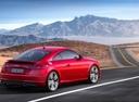 Фото авто Audi TT 8S [рестайлинг], ракурс: 225 цвет: красный
