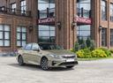 Фото авто Kia Optima 4 поколение [рестайлинг], ракурс: 315 цвет: бежевый