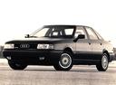 Фото авто Audi 80 8A/B3, ракурс: 45 цвет: черный
