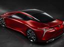 Фото авто Lexus LC 1 поколение, ракурс: 135 цвет: красный