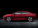 Фото авто Peugeot 508 2 поколение, ракурс: 90 цвет: красный