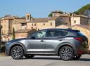 Фото авто Mazda CX-5 2 поколение, ракурс: 90 цвет: серый