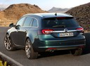 Фото авто Opel Insignia A [рестайлинг], ракурс: 135 цвет: зеленый