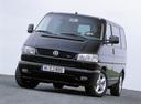 Фото авто Volkswagen Caravelle T4,  цвет: черный