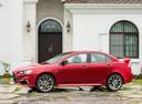 Фото авто Mitsubishi Lancer X [2-й рестайлинг], ракурс: 90 цвет: красный