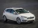 Фото авто Ford Focus 3 поколение [рестайлинг], ракурс: 315 цвет: белый
