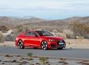 Фото авто Audi RS 5 F5, ракурс: 315 цвет: красный