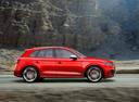 Фото авто Audi SQ5 2 поколение, ракурс: 270 цвет: красный