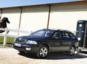 Фото авто Skoda Octavia 2 поколение, ракурс: 45 цвет: черный