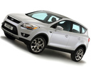 Фото авто Ford Kuga 1 поколение, ракурс: 45 цвет: белый