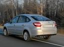 Фото авто ВАЗ (Lada) Granta 1 поколение, ракурс: 135 цвет: бежевый