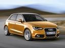 Фото авто Audi A1 8X, ракурс: 315 цвет: оранжевый