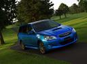 Фото авто Subaru Exiga 1 поколение, ракурс: 315 цвет: синий