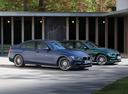 Фото авто Alpina B3 F30/F31, ракурс: 315 цвет: синий