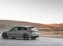 Фото авто Audi RS 3 8VA [рестайлинг], ракурс: 135 цвет: серый