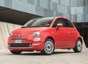 Фото авто Fiat 500 2 поколение [рестайлинг], ракурс: 45 цвет: красный