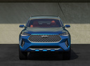 Фото авто Haval F7 1 поколение,  цвет: синий