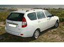 Фото авто ВАЗ (Lada) Priora 1 поколение, ракурс: 225 цвет: белый
