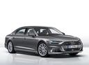 Фото авто Audi A8 D5, ракурс: 315 - рендер цвет: серый