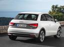Фото авто Audi A1 8X [рестайлинг], ракурс: 225 цвет: белый