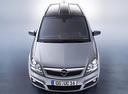 Фото авто Opel Zafira B,  цвет: серебряный
