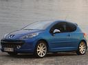 Фото авто Peugeot 207 1 поколение, ракурс: 90 цвет: голубой