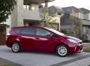Фото авто Toyota Prius Plus 1 поколение, ракурс: 270