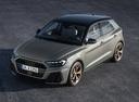 Фото авто Audi A1 2 поколение, ракурс: 45 цвет: серый