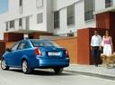 Фото авто Chevrolet Lacetti 1 поколение, ракурс: 135 цвет: синий