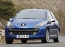 Фото авто Peugeot 207 1 поколение, ракурс: 45 цвет: синий