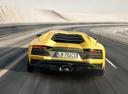 Фото авто Lamborghini Aventador 1 поколение [рестайлинг], ракурс: 180 цвет: желтый