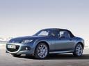 Фото авто Mazda MX-5 NC [2-й рестайлинг], ракурс: 45 цвет: серый