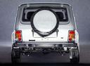 Фото авто ВАЗ (Lada) 4x4 1 поколение [рестайлинг], ракурс: 180 цвет: серебряный