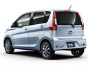 Фото авто Mitsubishi eK B11 [рестайлинг], ракурс: 135 цвет: голубой
