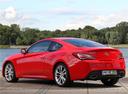 Фото авто Hyundai Genesis 1 поколение [рестайлинг], ракурс: 135 цвет: красный