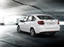 Фото авто ВАЗ (Lada) Granta 1 поколение, ракурс: 135 цвет: белый