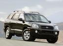Фото авто Hyundai Santa Fe SM [рестайлинг], ракурс: 315 цвет: черный