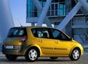 Фото авто Renault Scenic 2 поколение, ракурс: 225 цвет: желтый