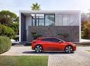 Фото авто Jaguar I-Pace 1 поколение, ракурс: 270 цвет: бордовый