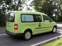 Фото авто Volkswagen Caddy 3 поколение [рестайлинг], ракурс: 225 цвет: зеленый