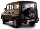 Фото авто УАЗ Hunter 1 поколение, ракурс: 135 - рендер цвет: черный