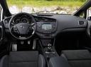 Фото авто Kia Cee'd 2 поколение, ракурс: торпедо